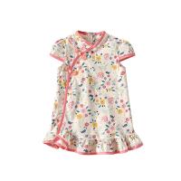 宝宝旗袍夏季中国风儿童唐装婴儿改良小女童连衣裙