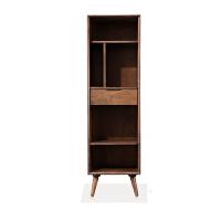 实木书架置物架橡胶木实木多层卧室储物架17bk50 1750 0.6米以下宽