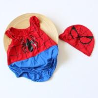 儿童泳衣女童男童连体泳装可爱婴幼儿女孩表演服男孩宝宝卡通造型