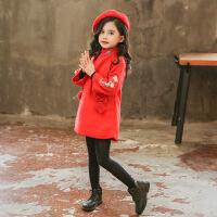 宝宝新年唐装4儿童中国风过年衣服6岁冬装女童旗袍连衣裙子