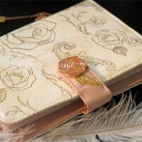 kinbor美女与野兽迪斯尼手帐本开学文具套装迪士尼套装生日伴手礼