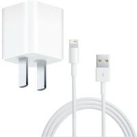 苹果5 iphone5 5S原装充电器套装 充电头+数据线 充电线 线充 直充