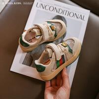 女童运动鞋男童鞋子儿童春夏款小白鞋透气网面板鞋