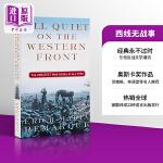 【中商原版】All Quiet on the Western Front西线无战事 经典历史小说 英文原版