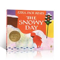 The Snowy Day 下雪天 1963年 凯迪克金奖绘本 美国Top 100推荐 英文原版读物Ezra Jack Keats 埃兹拉・杰克・济慈  送音频