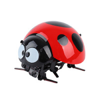 抖音欠揍虫电动智能感应摇控瓢虫机器人七星瓢虫甲壳虫逗逗虫玩具 官方标配