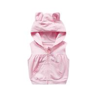 婴儿背心新生儿冬装宝宝春潮款03个月马甲衣服婴幼儿外套
