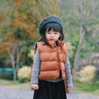 童装新款女童棉衣 2017年冬装儿童手塞棉马甲2岁马甲外套 179904