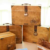 创意带锁密码木盒同学录 韩版复古唯美76张手提式纪念册 款式*