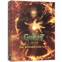 巫师游戏 英文原版 The Art of the Witcher Gwent Gallery Collection 巫