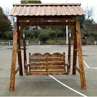 摇篮户外吊椅防腐实木吊篮阳台摇椅双人室内庭院秋千家具荡椅