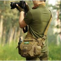 运动休闲背包鞍袋包单反相机包户外男女摄影单肩包斜挎包