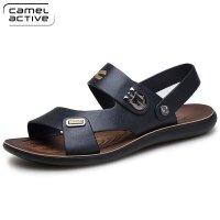 男士骆驼动感(camel active)2016夏季新款沙滩鞋镂空透气鞋休闲男鞋拖鞋