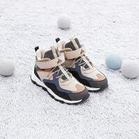 安踏�和�棉鞋男童加�q加厚二棉鞋 2020保暖冬高��A33946860