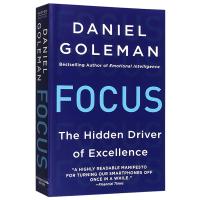 正版现货 专注 英文原版 经济学书籍 Focus The Hidden Driver of Excellence 丹尼