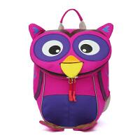 小可爱儿童书包幼儿园宝宝背包1-3-5岁男女双肩包小孩女童潮韩版 MTY#紫色