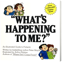 我到底怎么了?英文原版 What's Happening to Me? 青春期指南 青春期心理 性特征 青春期教育书籍