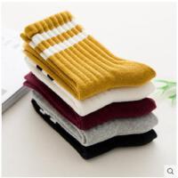 女士中筒袜加厚保暖秋冬款袜子韩国纯棉日系风冬季韩版棉袜学院风