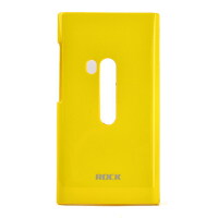 ROCK洛克 NOKIA诺基亚 N9裸壳系列 轻彩系列 裸壳 轻彩系列 (黄色 超薄)