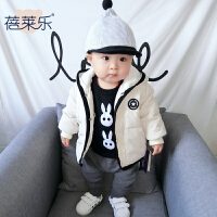 宝宝衣服冬季1岁6个月童新生儿棉衣外套婴儿加厚保暖外出服