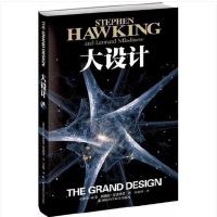 大设计 时间简史作者霍金全新著作 阐释宇宙起源问题 继爱因斯坦以来杰出的理论物理学家 科普读物书籍 科学与自然