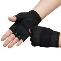 健身手套男器械训练防滑透气耐磨护腕举重骑行装备半指运动手套男