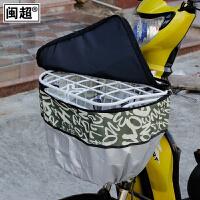 电动自行车车篮筐防水罩电瓶车前车筐罩车篮