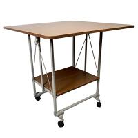 【颐海家具】折叠桌 移动折叠桌子 家用饭桌 餐桌方桌折叠 小桌子 80cm*80cm*75cm