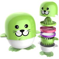 【当当自营】贝氏BERZ 宝宝婴儿辅食研磨器研磨碗套装 绿小豹 BZ8661G