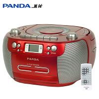 熊猫CD800 cd机DVD播放机MP3光盘机卡带英语教学用磁带录音机单放录放USB转录收音收录机面包机多功能一体机