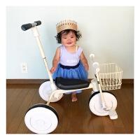 无印儿童三轮车脚踏车宝宝车1-3-5岁婴儿推车小孩车子轻便自行车