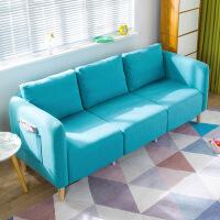 良木家居布艺沙发客厅欧式沙发组合宜家家具套装小户型懒人沙发