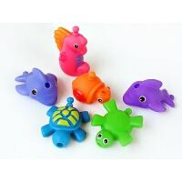 戏水玩具 宝宝拼插扣游泳洗澡子互动玩具 婴幼儿童益智玩具 拼接戏水