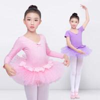 户外舞蹈练功服儿童公主裙演出服幼儿园芭蕾跳舞表演服装女孩蓬蓬纱裙