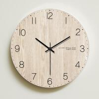 家用现代简约钟表客厅挂钟创意卧室北欧美式时钟挂表静音个性装饰