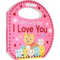 I Love You 母亲节 英文原版 Carry and Play 系列 季节早教启蒙绘本纸板书