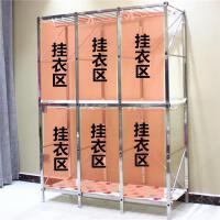 【满减优惠】简易衣柜不锈钢布衣柜布艺经济型组合衣橱双人布柜折叠钢架挂衣柜