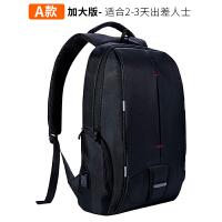 12新款电脑包双肩15.6/14/17寸笔记本旅行防盗背包商务书包男女华硕戴尔
