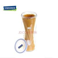 GlassLock/三光云彩 韩国进口GLASSLOCK储物罐 创意密封玻璃罐 面条罐IP585