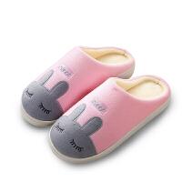 棉拖鞋 男女士可爱卡通加厚毛绒情侣棉拖鞋2020冬季新款韩版时尚男女式时尚保暖防滑棉鞋