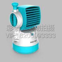 迷你空调加湿器小风扇可充电usb办公室学生可折叠喷雾扇六一礼物