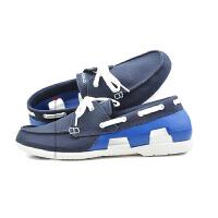 【下单立减120】Crocs卡骆驰 男式 耐磨时尚休闲舒适海滩帆船帆布鞋|200247 男士海滩帆船帆布鞋