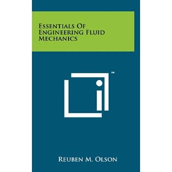 【预订】Essentials of Engineering Fluid Mechanics 预订商品,需要1-3个月发货,非质量问题不接受退换货。