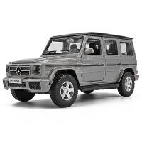 男孩玩具车汽车模型摆件仿真1:36越野车合金车模型