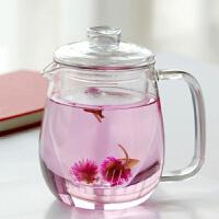 普�� 550ML玻璃��/ 三件式泡茶��/ 花茶�剡^�V�饶�玻璃��