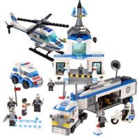 一号玩具 特警联防队23001拼插积木益智高档玩具儿童礼物品