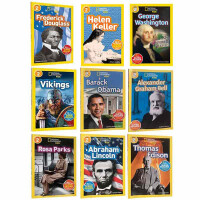 顺丰发货 英文原版绘本 美国国家地理 National Geographic KIDS Readers 2阶9册 儿童