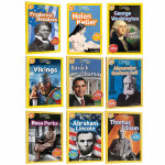 英文原版绘本 美国国家地理 National Geographic KIDS Readers 2阶9册 儿童百科图书
