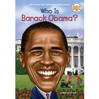 【中商原版】奥巴马是谁 英文原版 Who Is Barack Obama? 纽约时报畅销书 历史名人科普 6-12岁