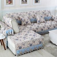 福存家居 沙发垫巾套罩布艺防滑真皮沙发坐垫飘窗垫四季通用